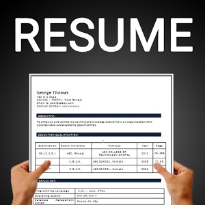 Best Resume Builder app 2018 for Android     30 Resume Formats Resume Builder by Aristoz