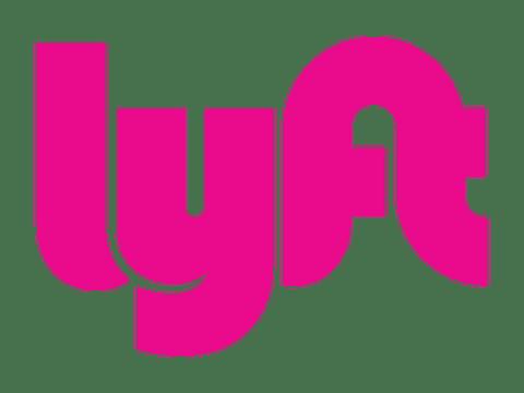 Lyft symbol driverless taxi