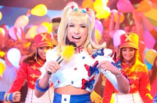 estreia de Xuxa na Record