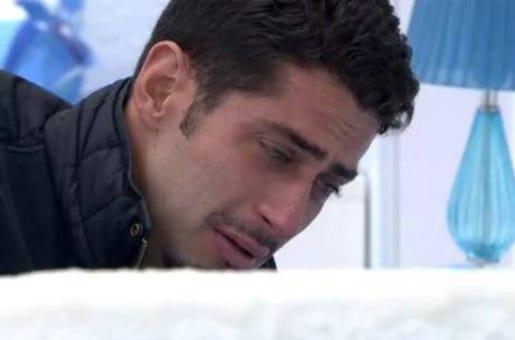 Marcelo chora a saída de Letícia