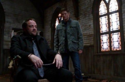 8x23-Sacrifice-Crowley-Dean