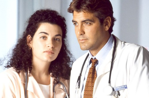 Julianna Margulies e George Clooney