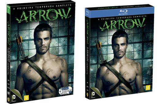 dvd e blu-ray arrow