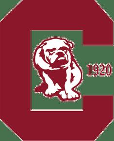 Canton Bulldogs logo, circa 1920
