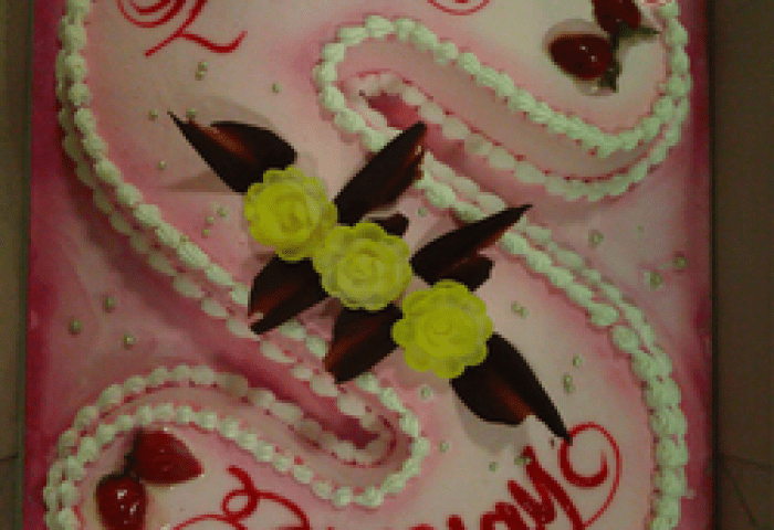 Happy Birthday Cake Images Sheila Book Medium