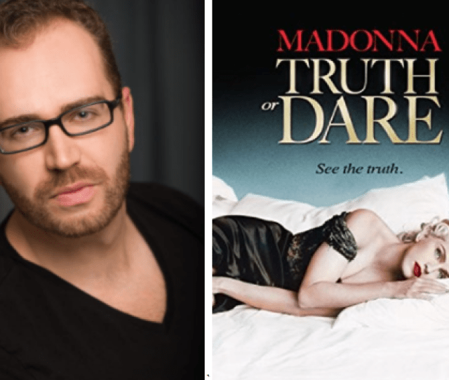 Lister And Regular Essentials Contributor Adam Morrison Rockingham Pulls Back The Curtain On Madonna With His Celebration Of Madonna Truth Or Dare