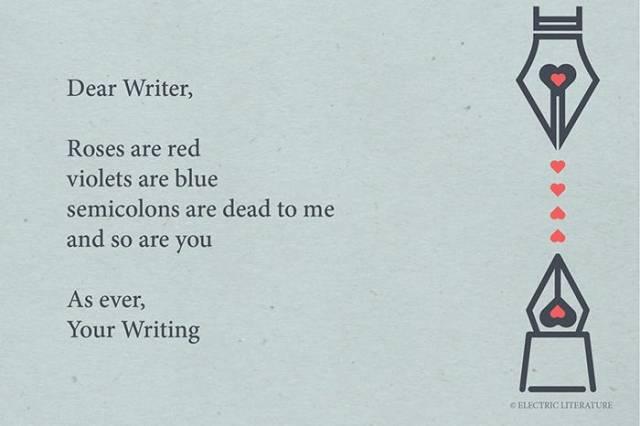 writing valentine