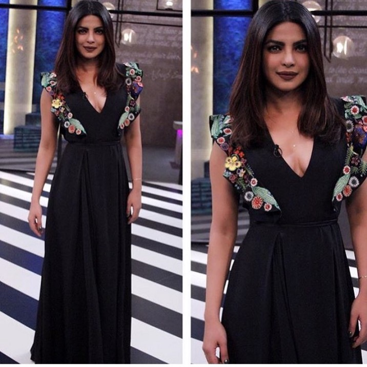 priyanka chopra koffee with karan look