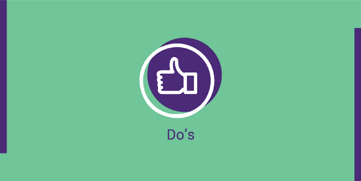 do's of event gamification