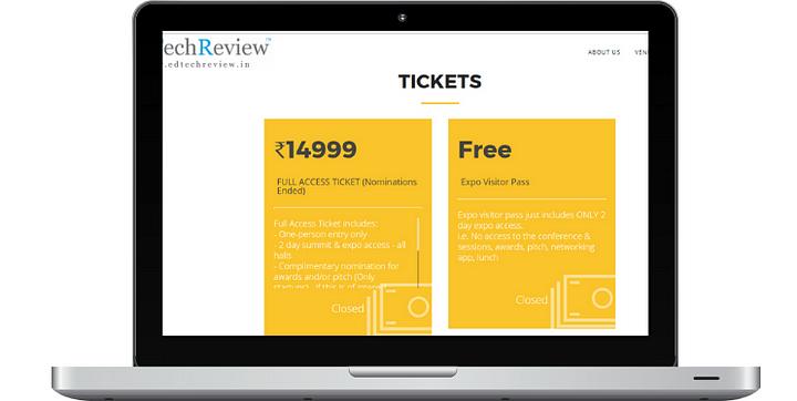 EdTech Ticketing