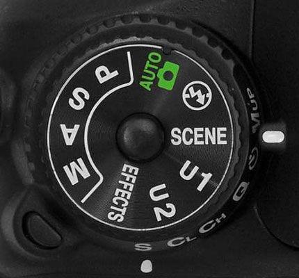 DSLR Camera Mode Dial