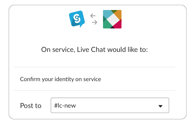 Live Chat and Slack