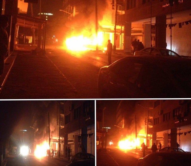 ليبيا: مقتل شخصين بتفجير سيارة قرب السفارة الايطالية