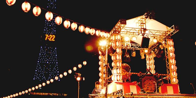 北海道夏天 祭典
