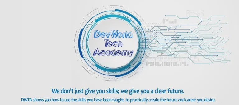 DevWorld Tech ACademy's Logo
