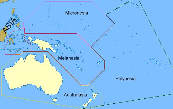 Okyanusya Vizesiz Ülkeler