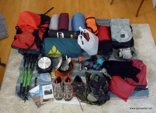 sırt çantası malzemeleri