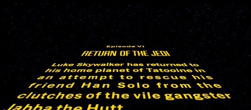 Jefi Wars Return Star Crawl