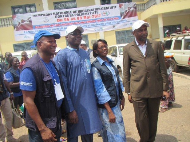 Santé : En Guinée, les partenaires restent mobilisés pour vaincre la poliomyélite