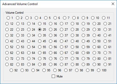 ボリュームコントロールデザイン3