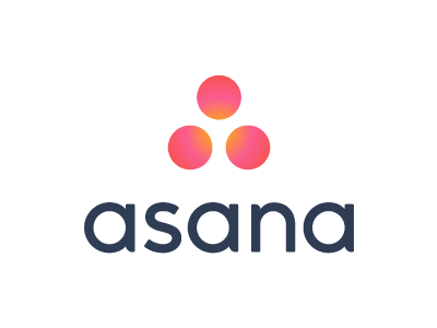 Asanaのグラデーションカラーのロゴ