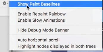Show Paint Baselines