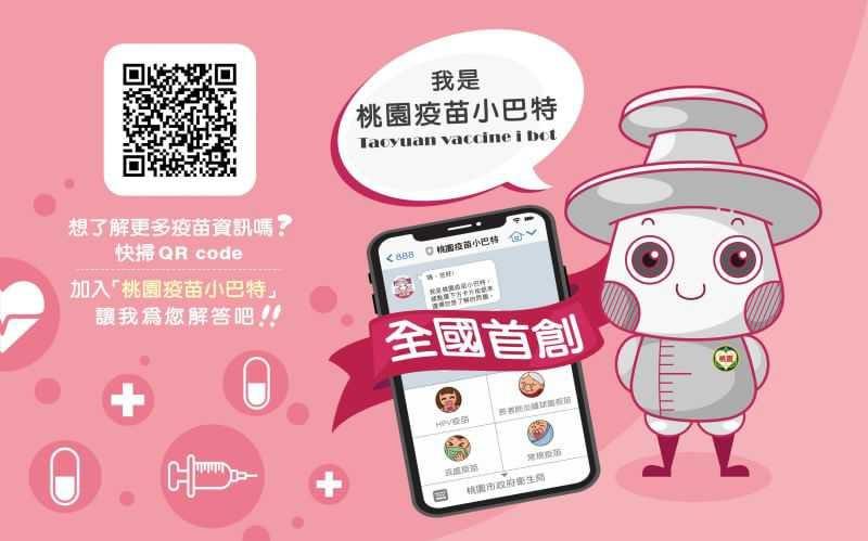 提供 QRcode給民眾掃描