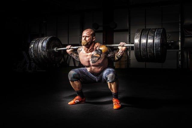 Heavy squat determination