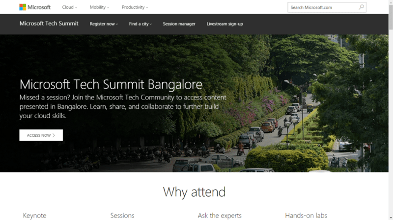 tech conference in india