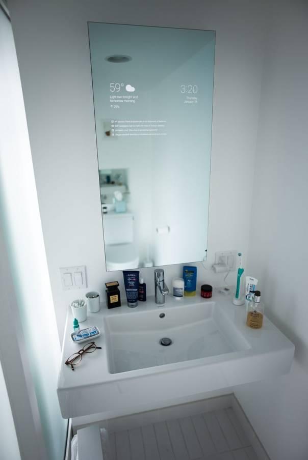 Smarter Spiegel - dies ist die Grundlage. Ein Smarter Spiegel!