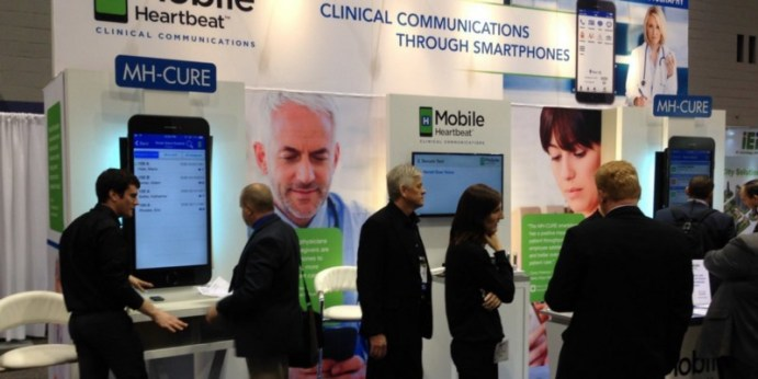 Technology at healthcare event