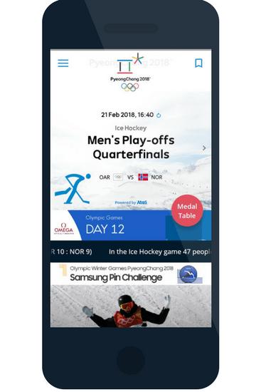 event tech at PyeongChang 2018