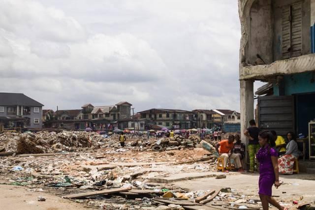 The demolished EkeUkwu market in Owerri, Imo state where 10-year-old Somtochukwu was killed. (Image Credit: Chief Africa)