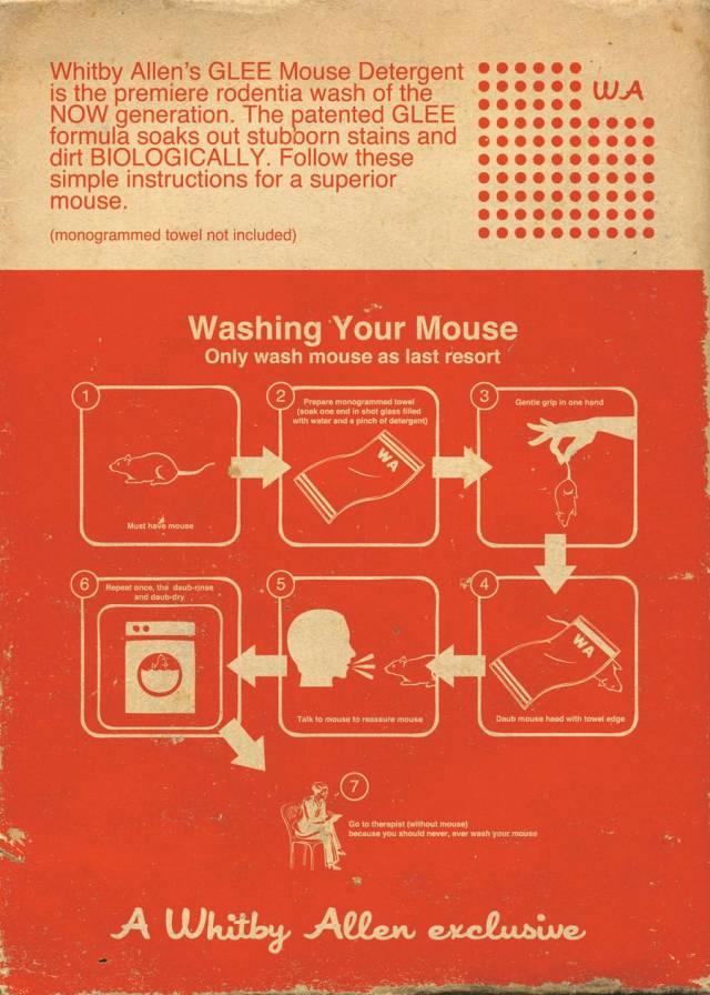 Jeff VanderMeer mouse washing back