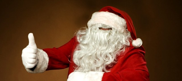 santa mouth beard