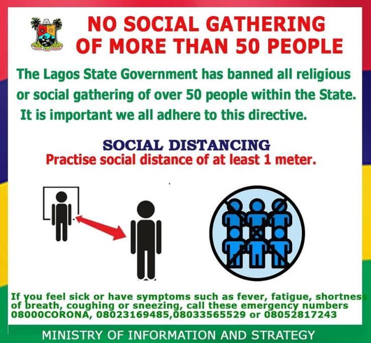 Coronavirus: Time to take social distancing seriously inNigeria - Nigeria Health Watch