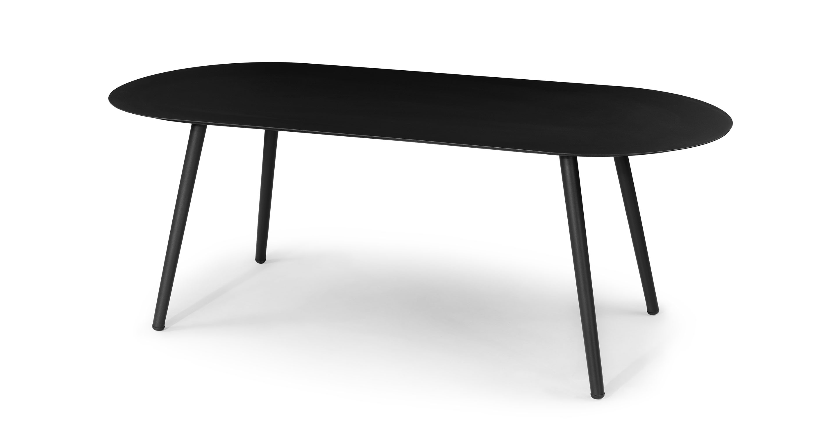 ballo oval dining table for 6