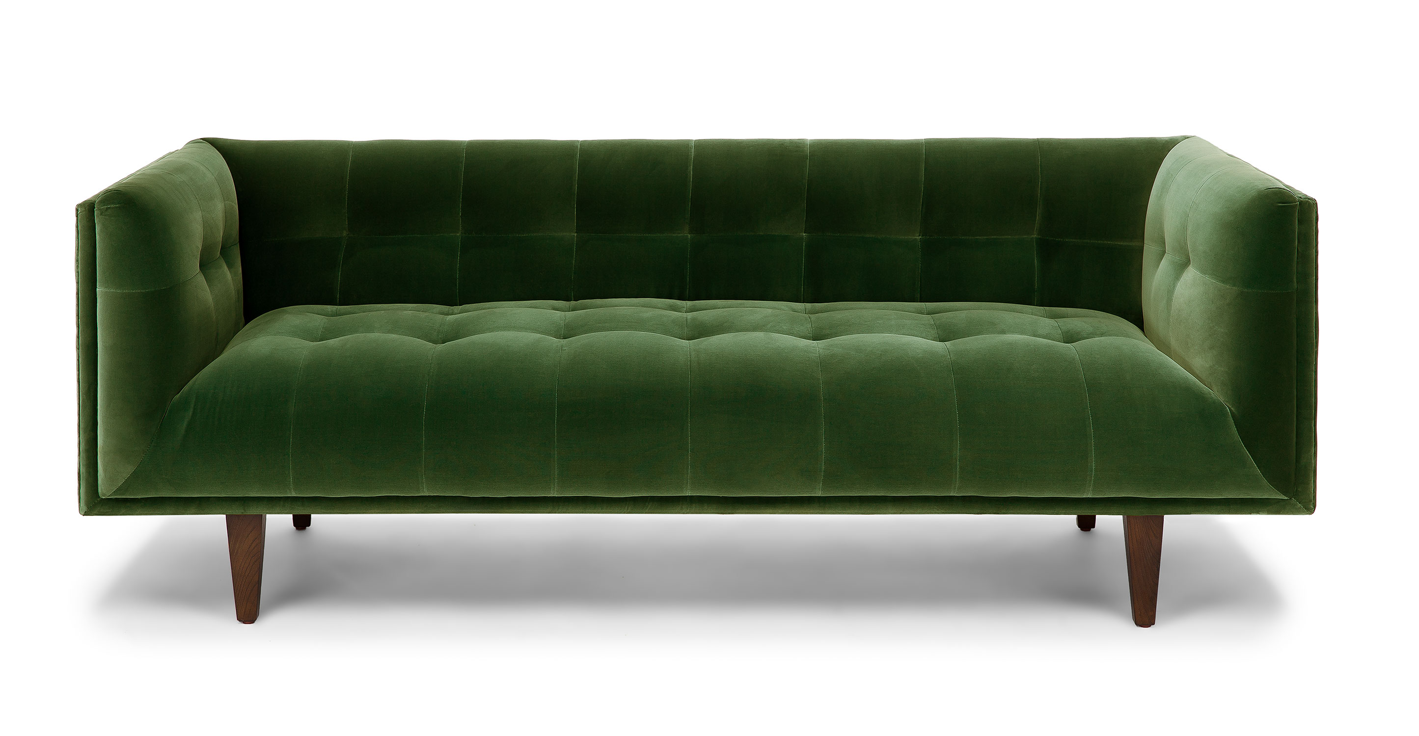 Grass Green Cirrus 3 Seater Velvet Sofa Article
