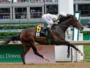 Rachel Alexandra A Breathtaking Oaks Winner Bloodhorse