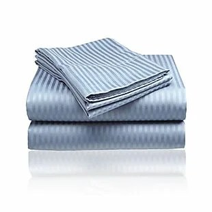 Embossed Striped Sheet Sets from $18