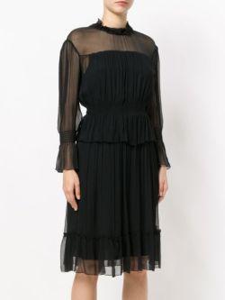 See By Chloé long sleeved chiffon dress