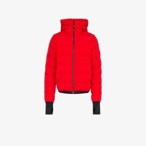 Moncler Grenoble Mens Red Padded Feather Down Jacket