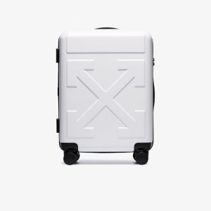 Off-white Womens White For Travel Arrow Trolley