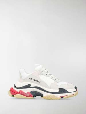 Balenciaga Triple S honeycomb sneakers