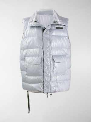 UNRAVEL PROJECT oversized padded gilet