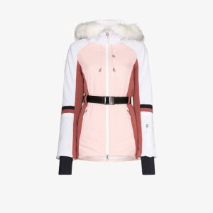 Sweaty Betty Womens Pink Method Softshell Ski Jacket