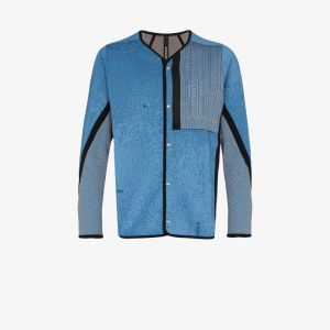 Byborre Mens Blue Ez Performance Cardigan