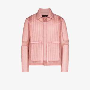Craig Green Mens Pink Quilted Panel Jacket