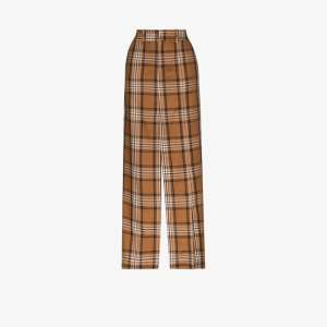 A.w.a.k.e. Mode Womens Multicolour Checked Split Maxi Skirt