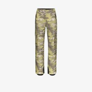 Colmar Womens Green Camouflage Ski Trousers